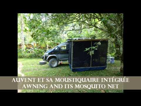For sale converted Van 4x4 Mitsubishi Delica aménagé à vendre Chile/Arg