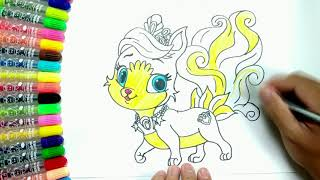 How to draw nine tailed fox Cute Step by step  | Colors For Kids Learning