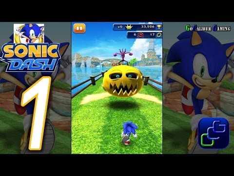 Sonic Dash Android Walkthrough - Gameplay Part 1 - Lost World BOSS Defeated