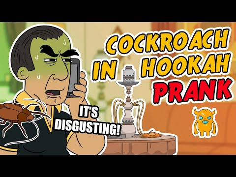 Cockroach in Hookah Prank (ft. Abdo the Arab) -Ownage Pranks
