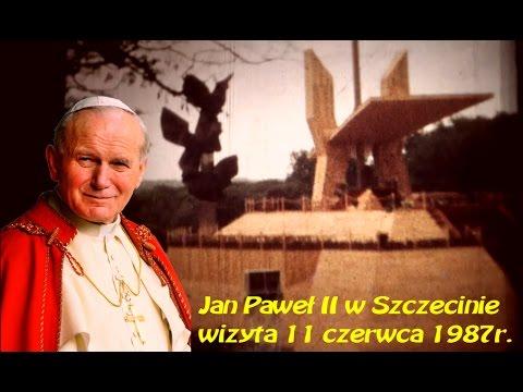 Papież Jan Paweł II W Szczecinie - Amatorskie Nagranie (6 Mm)