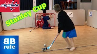 Kids HocKey Epic Knee Hockey Game Alexander Ovechkin takes on CBanks in the NHL Championship