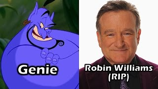 Characters and Voice Actors - Aladdin