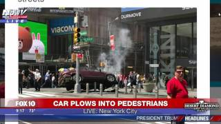 FULL COVERAGE: 26-Year-Old Navy Vet Crashes into Crowd in Times Square, Killing 1, Injuring 22 (FNN)