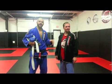 Black Belt Nearly Choked Unconscious By White Belt