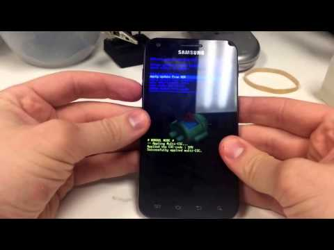 Factory Reset Using Hardware Keys Sprint Samsung SPH D710 Galaxy S2 Epic Touch 4G