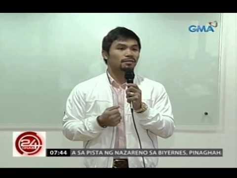 24 Oras: Manny Pacquiao, hinamon muli si Floyd Mayweather Jr. na kumasa na sa kanilang laban