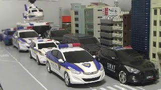 헬로카봇 경찰차 장난감 Hello Carbot Police Car Toys