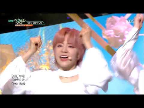 Download Pinky StarRUN핑키스타 - 공원소녀GWSN 뮤직뱅크  Bank 20190315 Mp4 baru