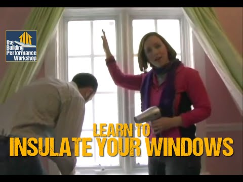 How to Weatherize Windows with Plastic Film Insulation- DIY Home Improvement