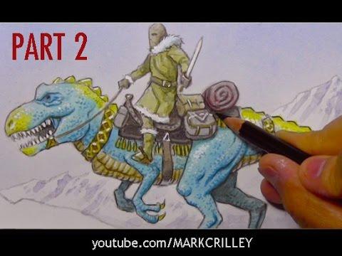 Making a Fantasy Illustration, PART 2: Color