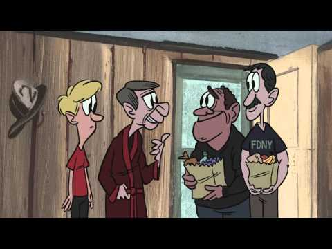 StoryCorps 9/11 animation - John and Joe