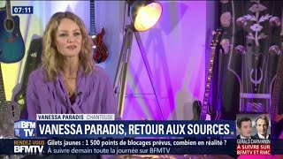 Vanessa Paradis Sort 34 Les Sources 34 Son Nouvel Album