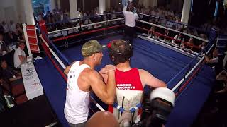 Ultra White Collar Boxing | Harrogate | Robbie Nelson VS Big Joe