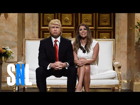 Donald and Melania Trump Cold Open - SNL