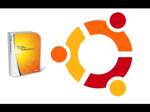 Install Microsoft Office 2007 on Ubuntu Linux AvoidErrors