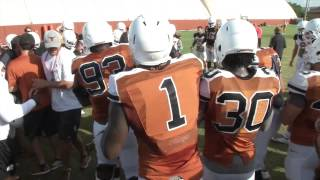 Longhorn Blitz: Circle drill [Aug. 21. 2014]