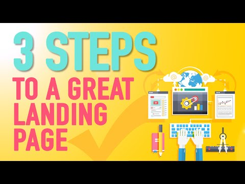 How To Make A Landing Page With WordPress - 3 litte steps