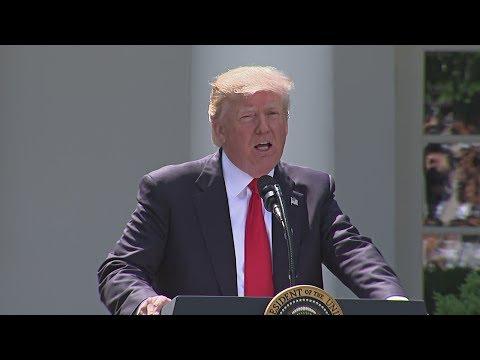Дональд Трамп объявил о выходе США из климатического соглашения (новости)