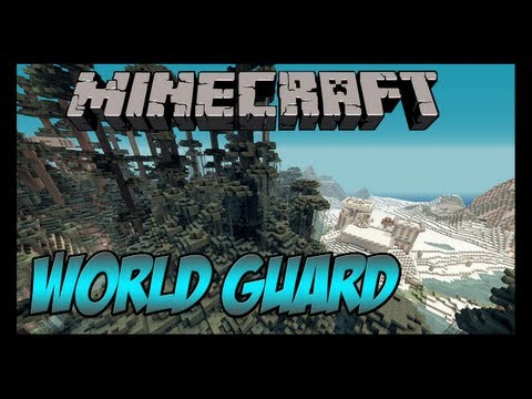 Tutorial de como usar o plugin WorldGuard (Proteger, tirar pvp, etc)