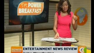 Power Breakfast: Entertainment News Review