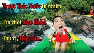 PHD | Trượt Thác Nước Tự Nhiên Tưởng Không Phê Mà Phê Không Tưởng | Slide The Natural Waterfall