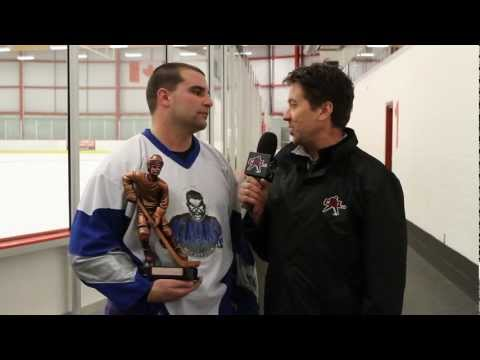 CAHL.ca - Manimals Steve Arruda Breaks Scoring Record - Calgary Adult Hockey ...