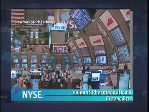 17 June 2010 Valeant Pharmaceuticals International Hosts Investor Day at the NYSE