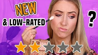 LOW-RATED NEW MAKEUP... Are They REALLY that Bad?!