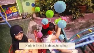 Permainan Anak :  bermain jungkitan , Ayunan dan Pelisotan  - Dunia Anak - kids playing
