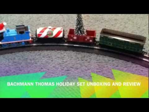 Bachmann Thomas Holiday Set Unboxing and review