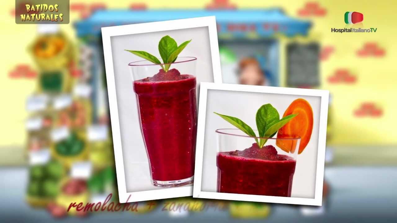 Batidos naturales frutas y verduras hospital italiano - Batidos de frutas ...