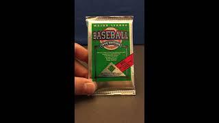 1990 Upper Deck Baseball Sealed Pack Break
