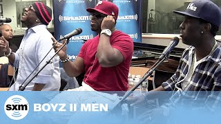 "Boyz II Men Video - Boyz II Men ""It's So Hard To Say Goodbye To Yesterday"" // SiriusXM // Heart & Soul"
