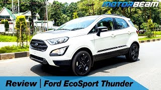 Ford EcoSport Thunder Review - Still The Best? | MotorBeam