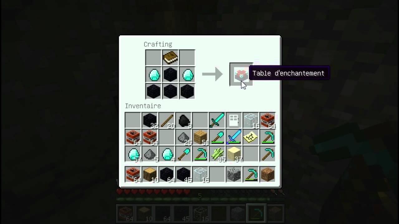Minecraft Tuto Comment Cr Er Des Objets Rares Youtube
