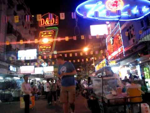 Khao San Road – Walking Tour