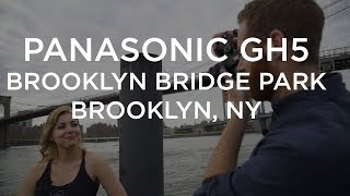 Panasonic Lumix GH5 in Brooklyn Bridge Park