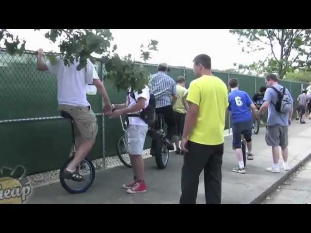 NYC Unicycle Festival - Edit Version