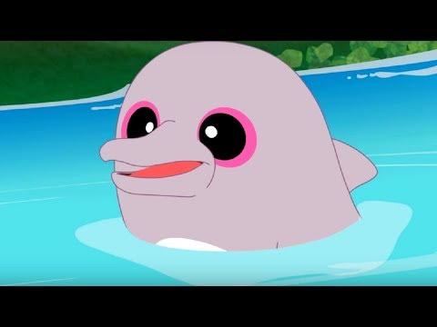 Юху и его друзья – До свидания, розовый дельфин - сезон 1 серия 43 – обучающий мультфильм для детей