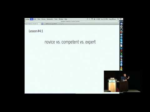 Greg Wilson: Software Carpentry: Lessons Learned - PyCon 2014