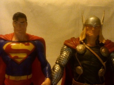 Hi, I m a Marvel...and I m a DC: Thor The Dark World and Man of Steel