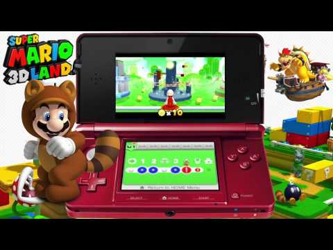 Super Mario 3D Land - Let's Play Part 1 [Nintendo 3DS HQ Capture]
