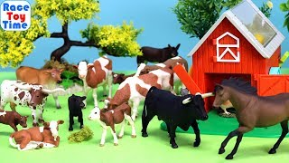 Lots of Farm Animals Toys Surprises for Kids