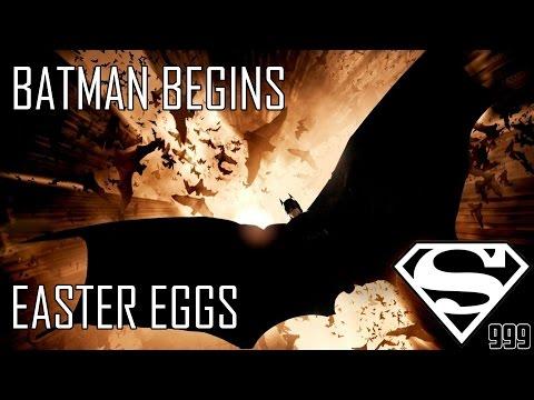 Batman Begins: Hidden Easter Eggs & Secrets