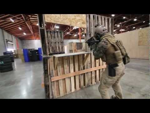 CQB CITY AIRSOFT ACTION February 9th 2013 (dtw ptw mp7 sr25 glock rafica sig)
