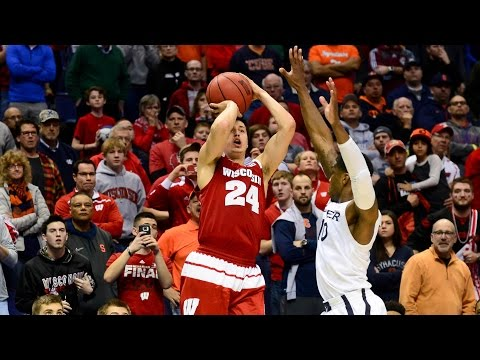 Wisconsin vs. Xavier: Bronson Koenig game-winning three-pointer