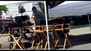 "On The Set ""Rob The Mob"" In Ozone Park"