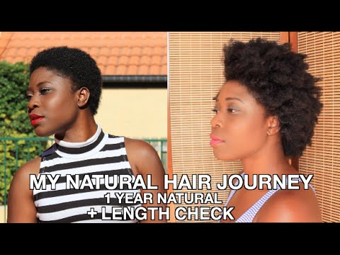 My Natural Hair Journey|| 1 Year Post Big Chop + UPDATE + Length Check