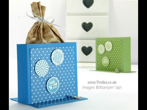 Freestanding Treat Bag Holder Tutorial